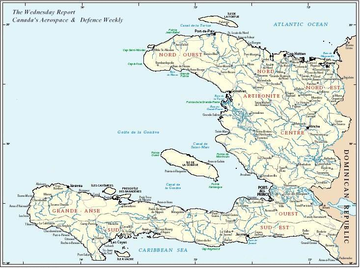 Haiti-map. It's been almost two weeks since the earthquake in Haiti.