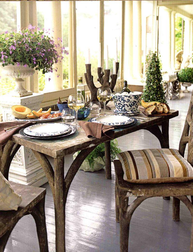 House Beautiful Faux Bois
