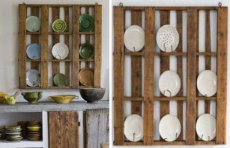 Dish display rack
