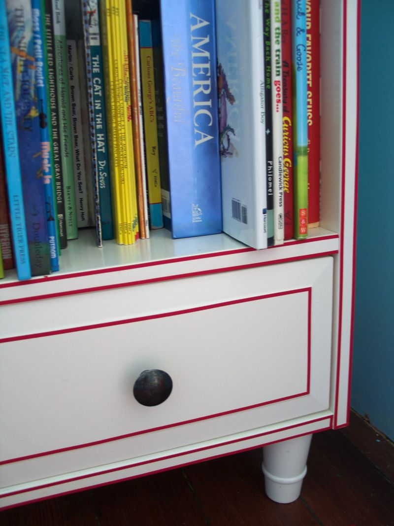 Bookcase Detail