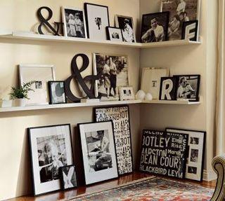 Photo Display via Creative mama