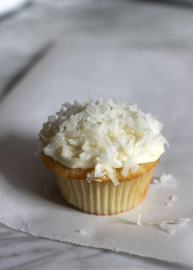 Coconut Cupcakes - Urban Comfort