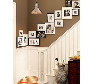 Photo display via Apartment Therapy