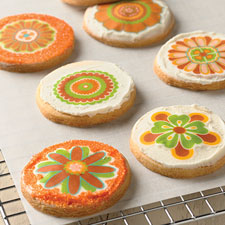 Autumn cookie toppers