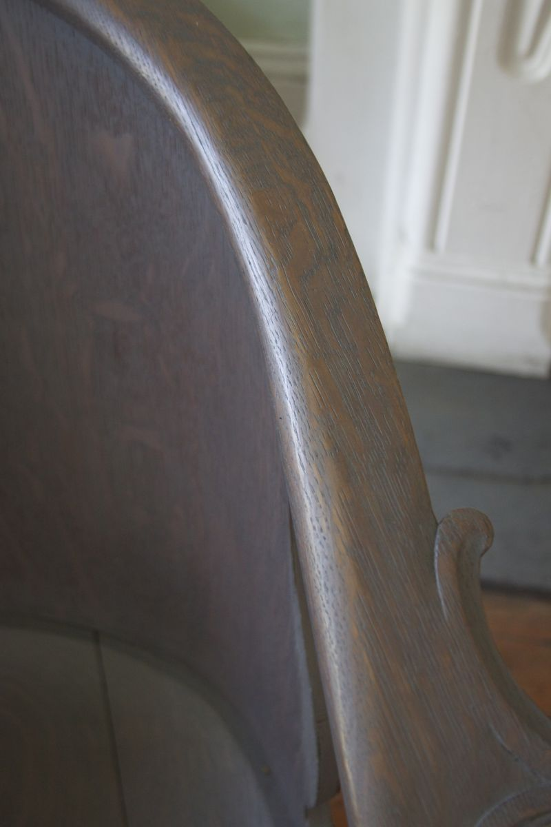 Pickled Chair Detail