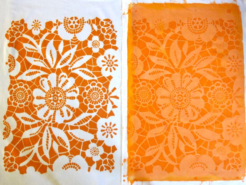 Inkodye with Stencils comparison