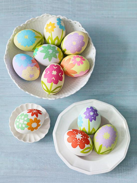 Kirigami eggs