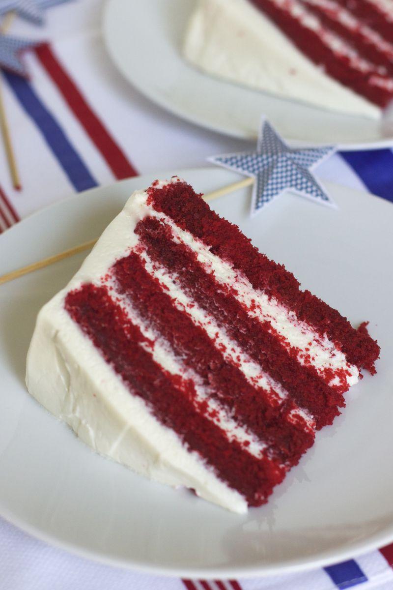 Summer Red Velvet Cake