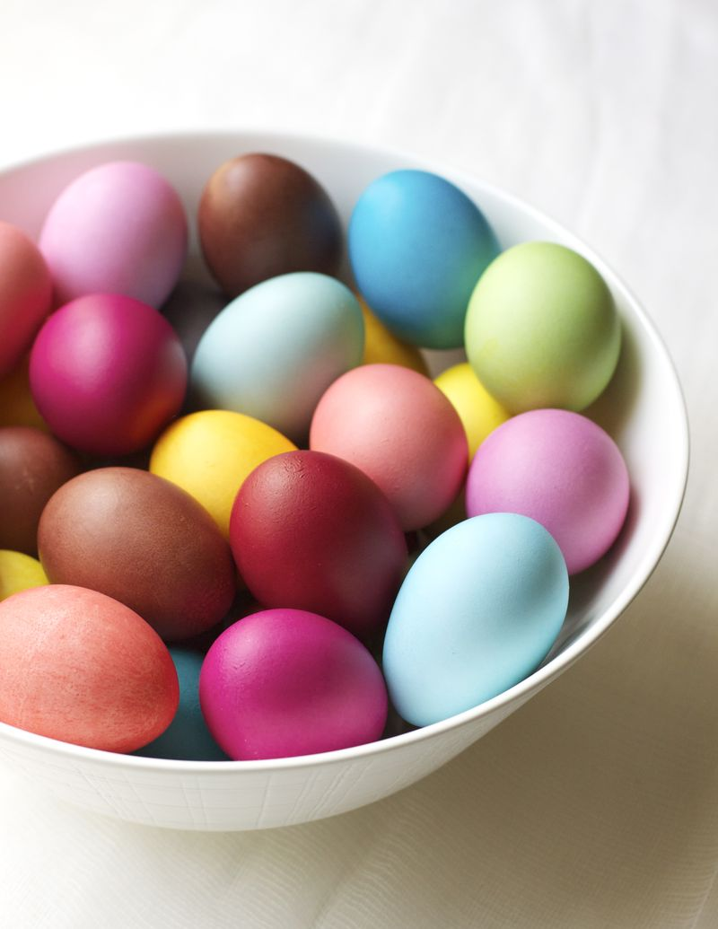 Dyeing Eggs with Rit Dye - Urban Comfort