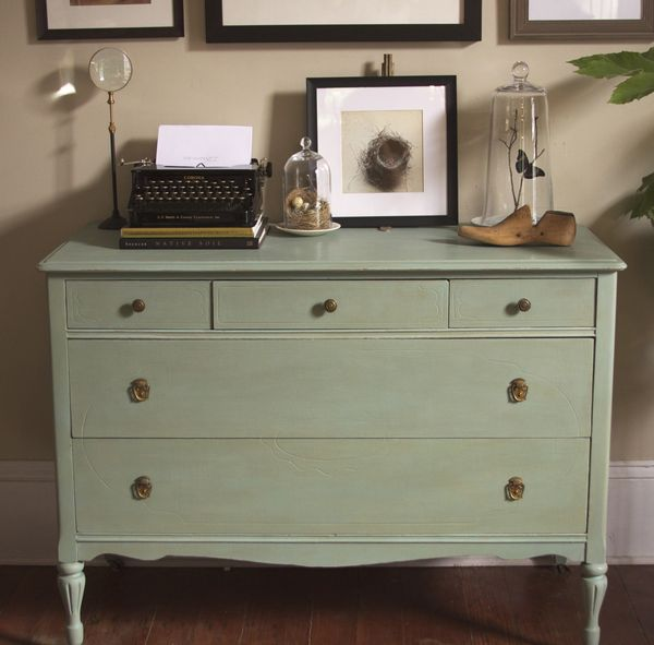 Chalk Paint Kitchen Cabinets Durability: Dresser Makeover With Annie Sloan Chalk Paint