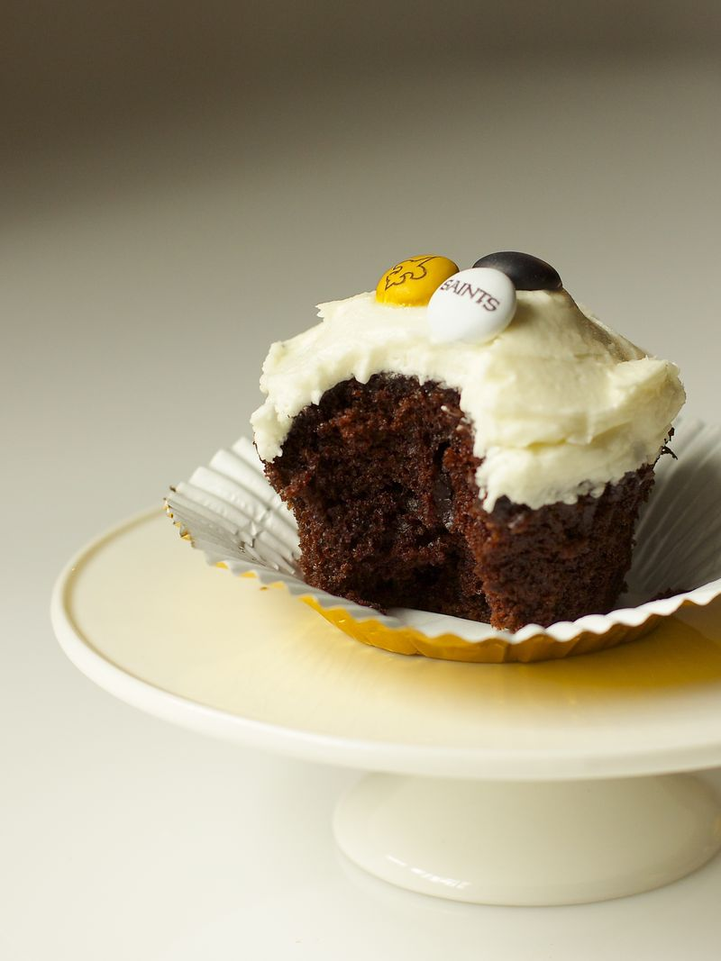 Chocolate Cupcake with White Buttercream