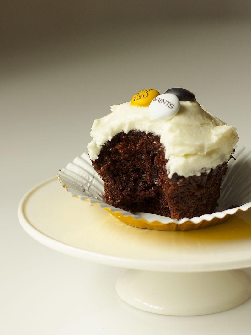 Chocolate Cupcake with White Buttercream