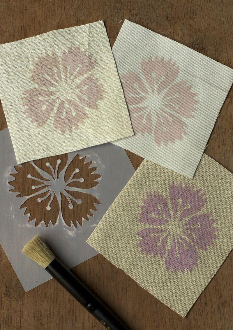 Stencil fabric