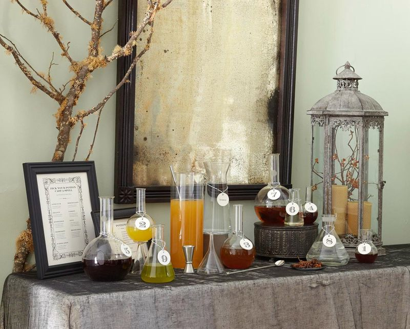 DIY Potion Bar | Urban Comfort (Photographer: Brie Williams)