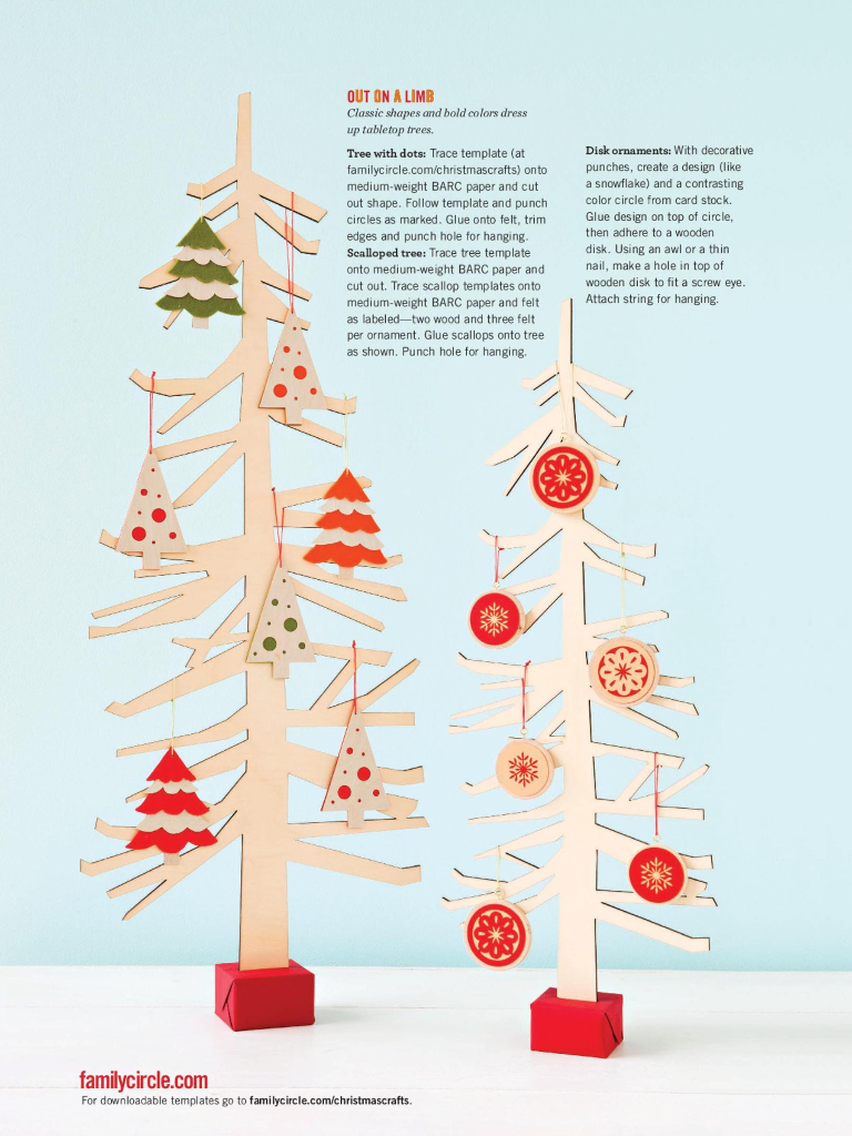 merry and bright scandinavian inspired christmas crafts