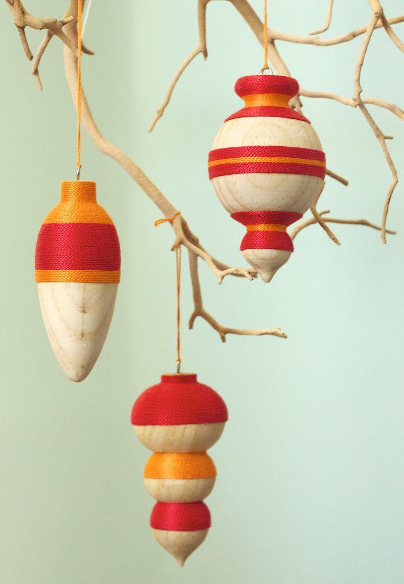 Thread Ornaments