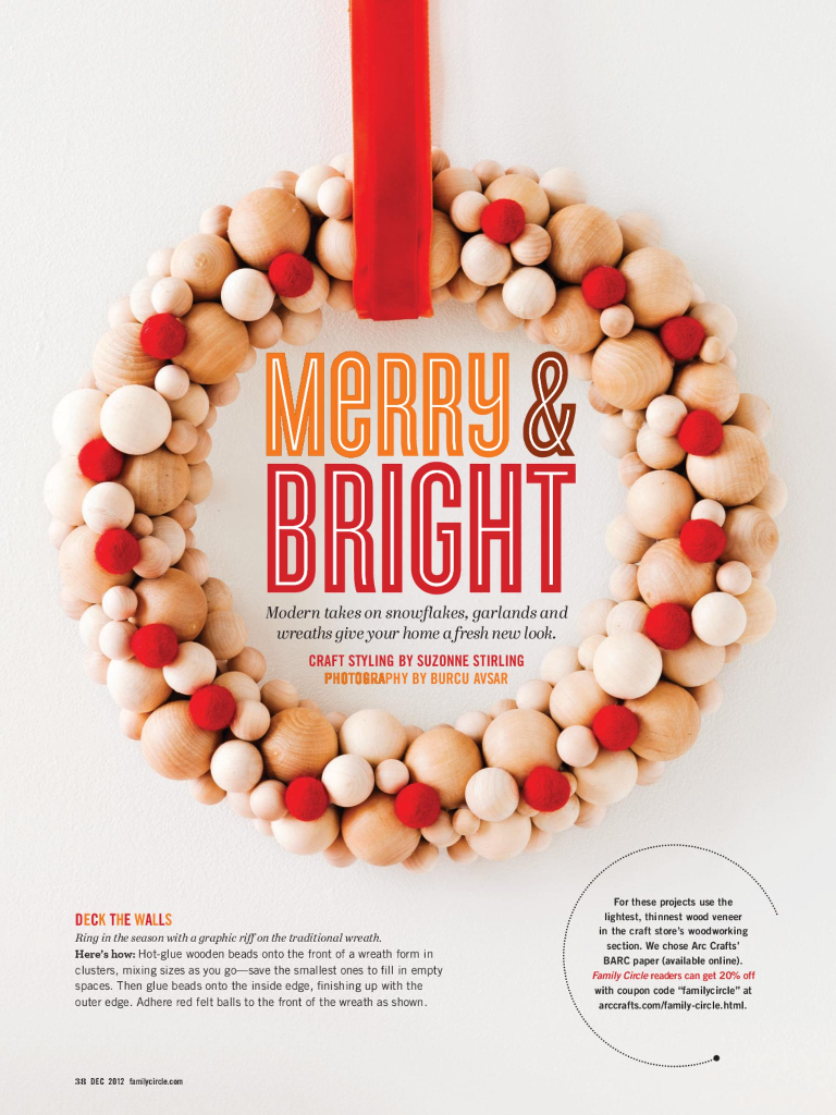 Merry and Bright Family Circle Dec 12