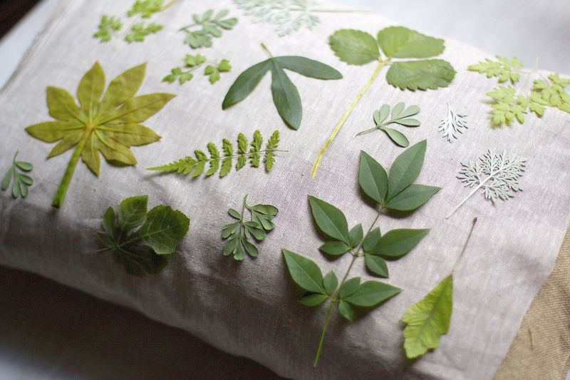 Botanical Pillow Step 2