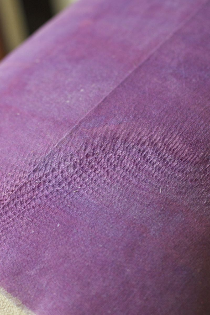 Botanical Pillow Finished seam