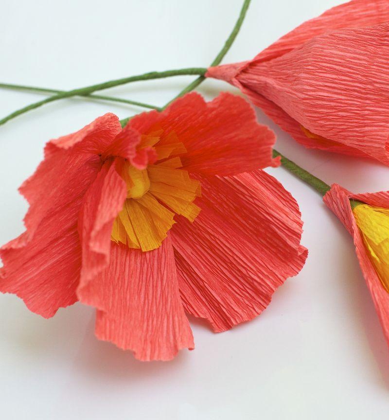 Assembled flower