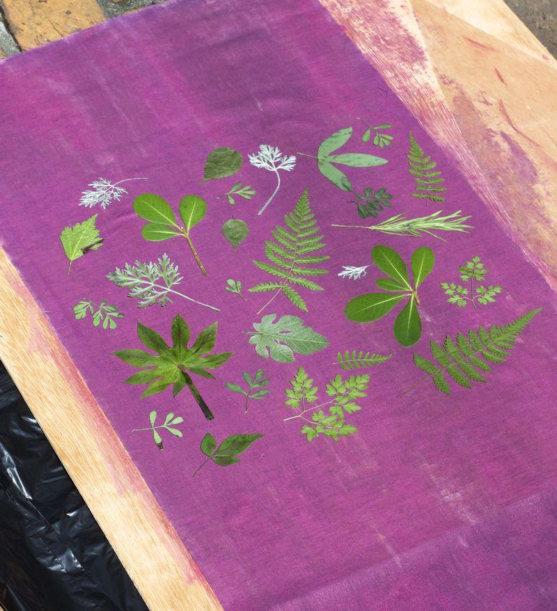 Botanical Pillow Step 3