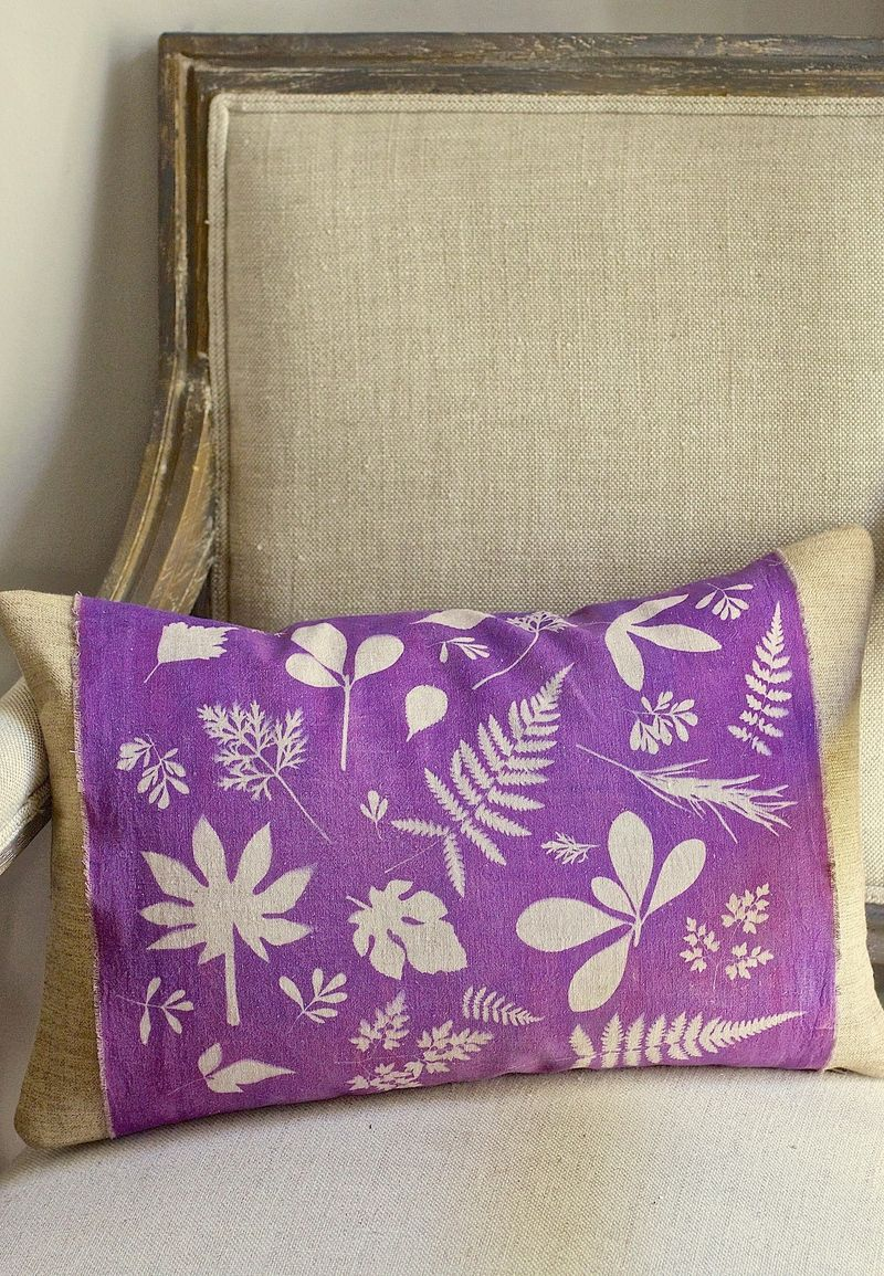 Botanical Pillow Sleeve