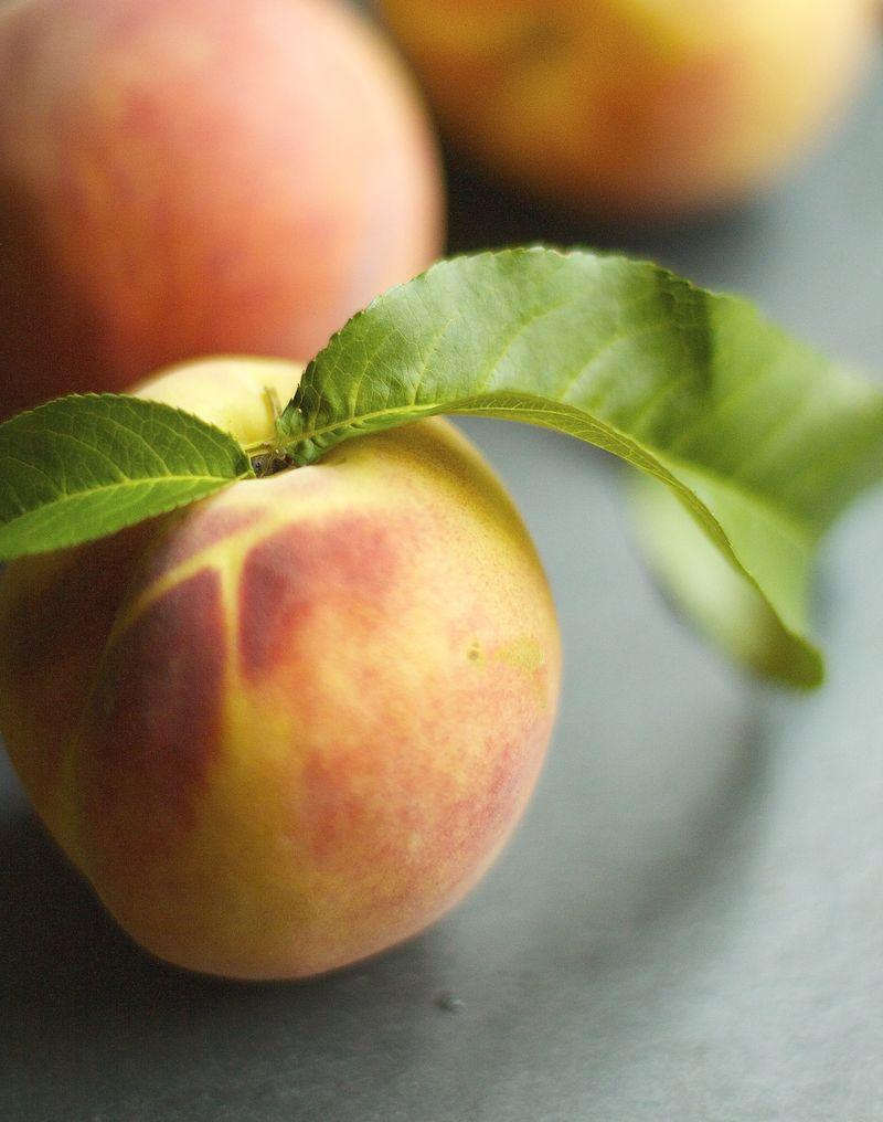 Peach Leaf Ice Cream|Urban Comfort