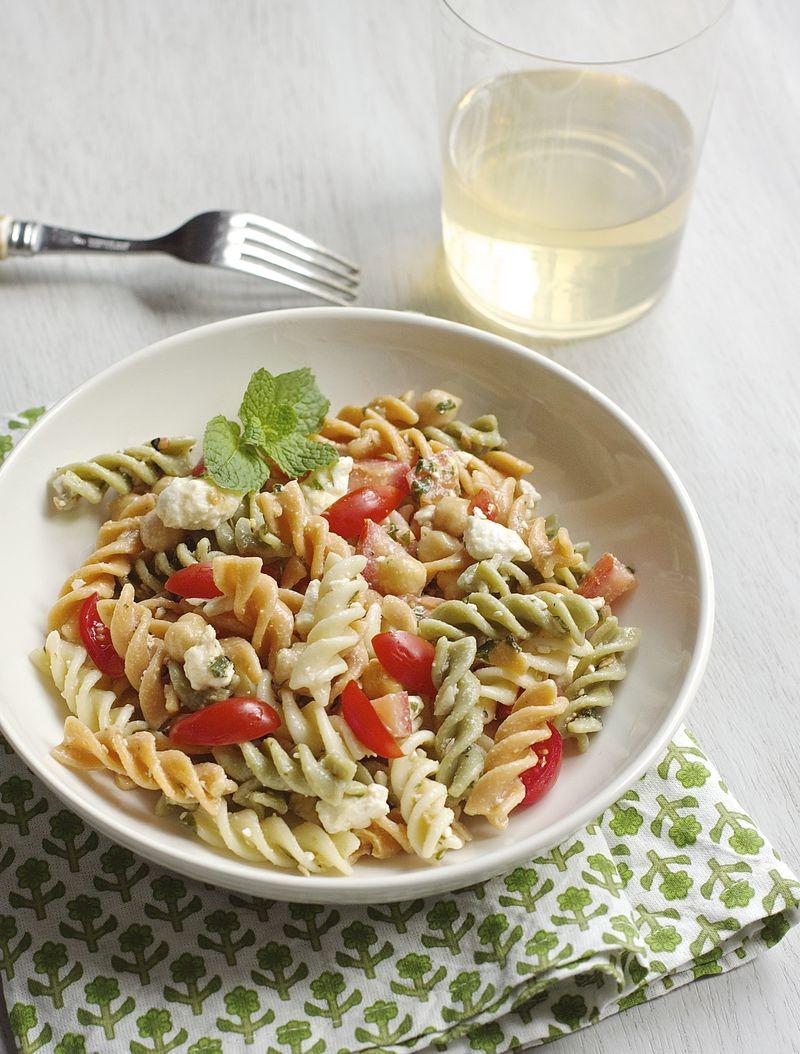 Pasta Salad with feta and mint | Urban Comfort