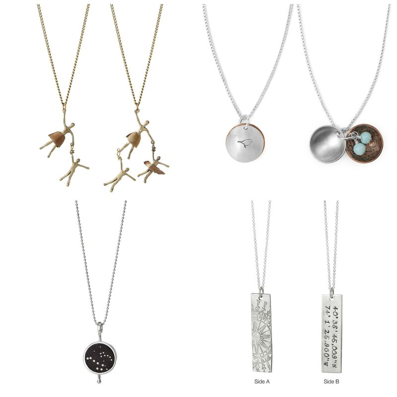 Motherhood Necklaces from Uncommon Goods