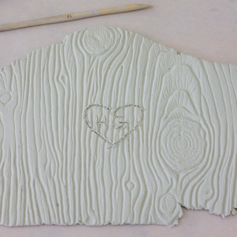 Carving heart