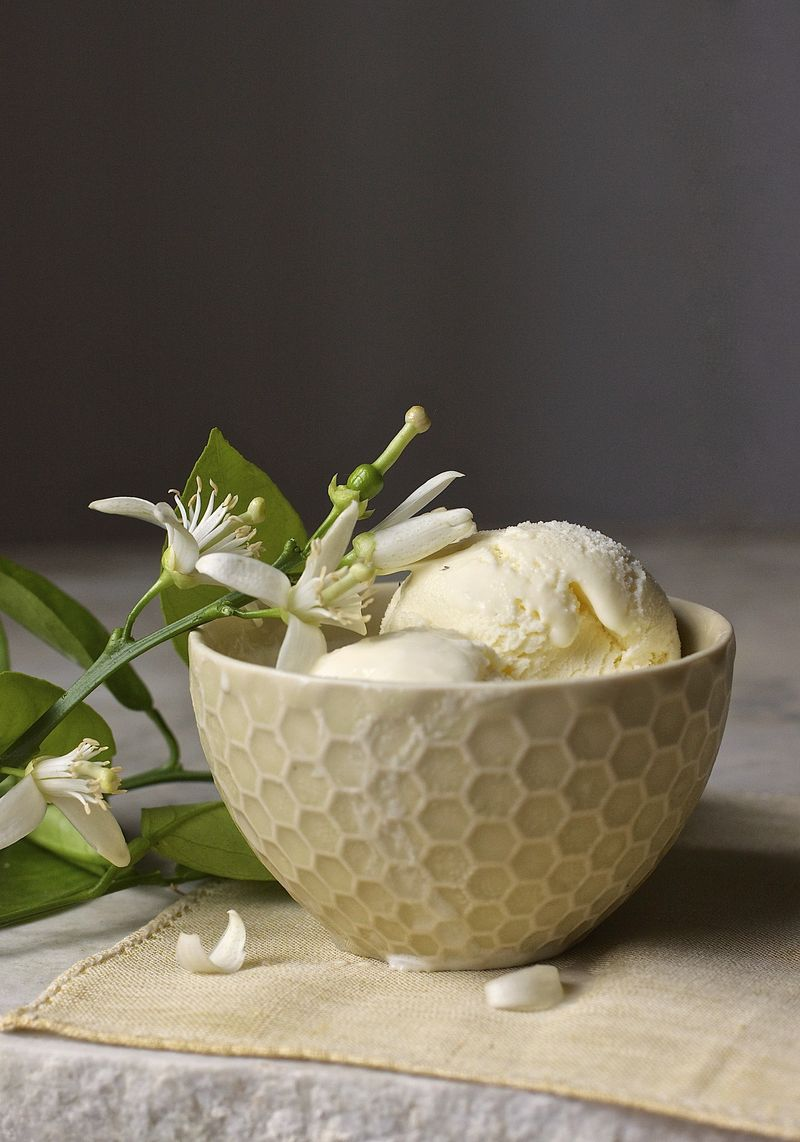 Orange Blossom Ice Cream | Urban Comfort