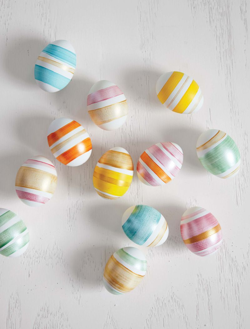 Striped Eggs | Martha Stewart