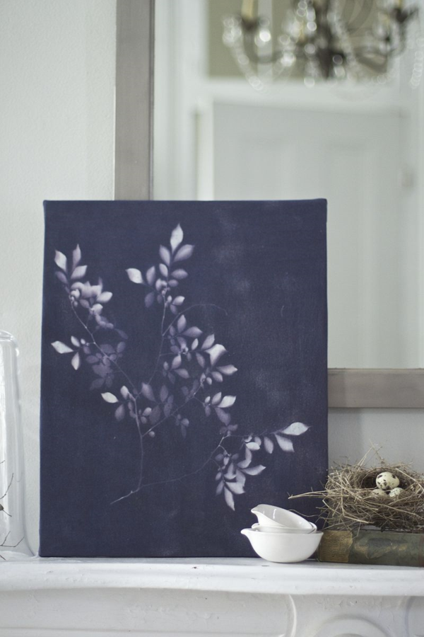 Inkodye Botanical Sun Print | Urban Comfort