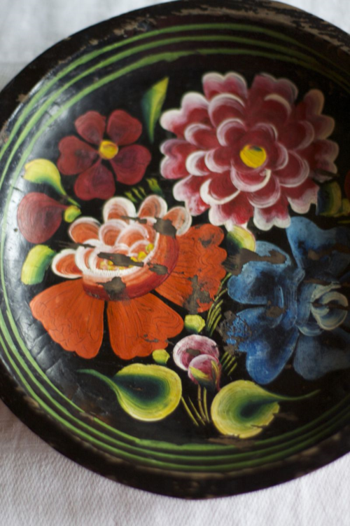 Painted Bowl from Mexico